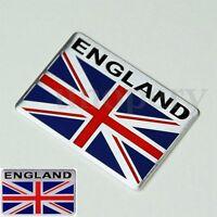 3D Car Aluminum England GB UK Union Jack Flag Shield Emblem Badge Sticker Decals