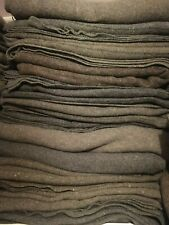 British Army Wool Brown Grey Military Blanket 1.95 x1.5m Grade 2 WW2 Reenactment