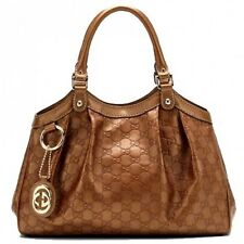Gucci Bronze sukey medium tote bag Authentic