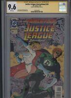 Justice League International #59 CGC 9.6 SS Ron Randall 1993