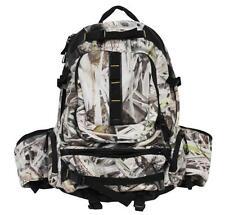 Camo Backpack Bow Rifle Sling Laptop Sleeve Bag Travel Hiking Rucksack New Camp