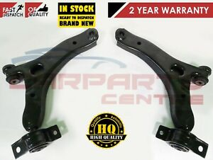 FORD TRANSIT CONNECT 2x FRONT SUSPENSION LOWER WISHBONE CONTROL ARM ARMS BUSHES