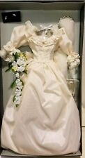 VERY RARE! Franklin Mint Wedding Ensemble For Princess Diana  Doll