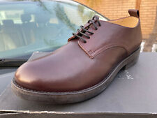 New in box Barneys New York Wine Leather Derby Shoes 44 EU 10 US Made in Italy