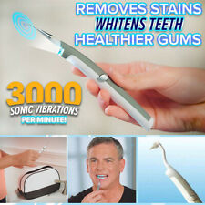 Electric Ultrasonic Tooth Stain Eraser Remover Teeth Whitening Dental Cleaner