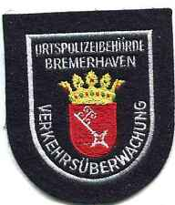 Stadt Bremerhaven:Armabzeichen,Alter Art.115 mm.Mgest auf blau. 1 Stueck