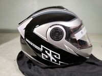 Speed & Strength Helmet SS1710 Split decision BLK/GRY XLarge TR# 884773