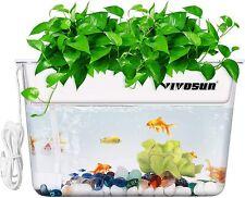 Vivosun Aquaponic ecosystem Fish Tank Hydroponic Cleaning Feeds Plants Indoor