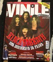 VINILE italian Magazine BLACK SABBATH discography Battisti Gaber Vinyl collector