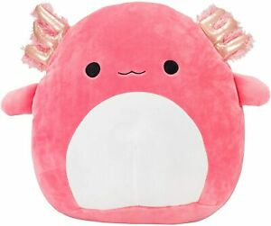 """Squishmallow 12"""" ARCHIE The Pink AXOLOTL Ultra Soft Plush KellyToy NEW"""