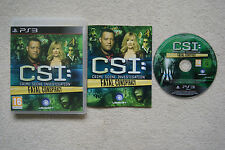 CSI: Crime Scene Investigation Fatal Conspiracy  PS3 -1st Class FREE UK POSTAGE