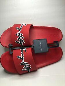 Tommy Hilfiger cursive Slide Sandals