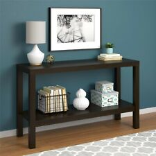 Parsons Console Table Sofa Oak Kitchen Entryway Office Storage Furniture