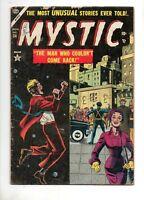 Mystic #34 Atlas Pre-Code 1954! VG 4.0 Cooke, Mortellaro, Preta Art! GREAT COVER