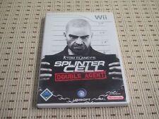 Splinter Cell Double Agent für Nintendo Wii und Wii U *OVP*