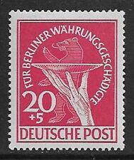 GERMANY 1949 Berlin 20pf Relief Fund SG B69 MH/* (CV £160)