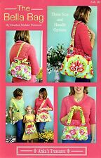 The Bella Bag Pattern Includes 3 Sizes From Anka's Treasures