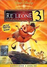 Il Re Leone 3 (2004) 2-DVD Ologramma Tondo