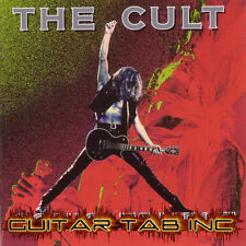 The Cult Guitar & Bass Tab SONIC TEMPLE Lessons on Disc