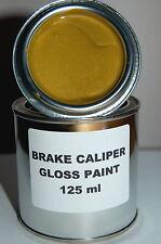 GOLD BRAKE CALIPER PAINT METAL STEEL ENGINE High Temperature 125ml