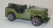 Redline Hotwheels Olive 1976 Gun Slinger oc8663