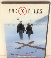 The X-Files: I Want to Believe (DVD, 2009, Checkpoint Extended Cut Sensormatic U