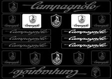 Campagnolo Bike Bicycle Frame Decals Stickers Graphic Adhesive Set Vinyl Gray
