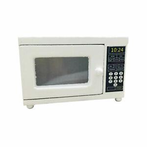 Dollhouse Kitchen Appliances Microwave Oven 1:12 Miniature Accessories White