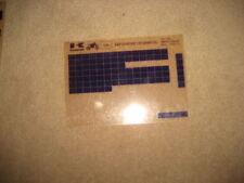 KAWASAKI KMX 125 B10_11_12 catalogue de pièces rechange MICROFICHES microfilm