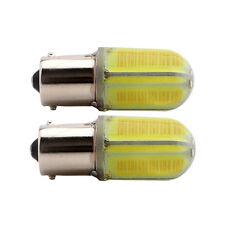 2Pcs P21W 1156 BA15S COB 48 SMD Silica Car Bulb Led 12V 24V Turn Signal DC 9-28V