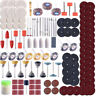 350Pcs Rotary Tool Accessories Kit Grinding Polishing Cutting Sanding For Dremel