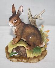 Kowa Finest Bisque Porcelain - Brown Hare Figurine
