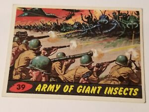 1962 Topps MARS ATTACKS #39 Army of Giant Insects