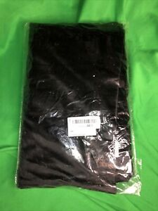 "Tang Depot Luxury Solid Velvet Pillow Case Sham 28""x 28"" Black"