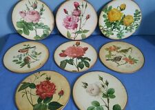8 Vintage Lady Clare Hot/Place Mats Floral & Bird Design Made in England