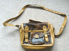 Tan Satchel Type Handbag