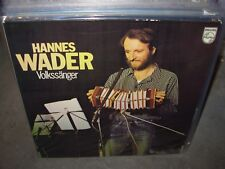 HANNES WADER volkssanger ( world music ) germany