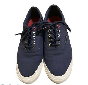 Tommy Hilfiger Mens Size 10 Low Top Flat Fashion Sneakers Shoes