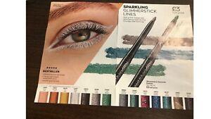 Avon True Colour Glimmerstick and Glimmerstick Diamond Eyeliners - asstd colours