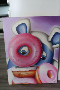 Peter Smith   Peter Smith Donut Touch Edition Box Canvas 97 / 150 with COA