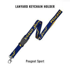 Portachiavi Laccetto da Collo Porta Badge Peugeot Sport
