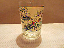 New listing Vintage Currier & Ives Arby's Collector's Series Glass Christmas Snow Museum Ny