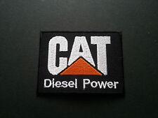 HEAVY METAL PUNK ROCK MUSIC SEW / IRON ON PATCH:- CAT (a) DIESEL POWER