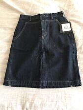 Marithe Francois Girbaud Jeans Denim Handle Back Vintage Skirt Sz.8 NWT MSRP $42