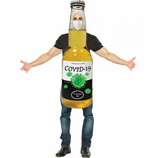 Bottle Halloween Costume Yellow