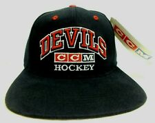 1990'S Vintage YOUTH New Jersey Devils Cap NHL Hockey CCM Snapback Hat NEW!