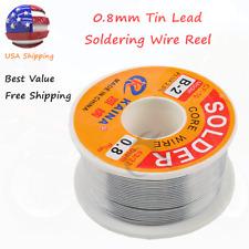 6337 Tin Lead Line Soldering 08mm Rosin Core Solder Flux Welding Wire Reel Hot