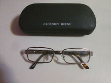 Geoffrey Beene Eyeglasses Yale Brown Tortoise 54[]18-140 Flex Hinge w/Case