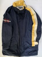 Vintage Nautica Jacket Coat Size Large