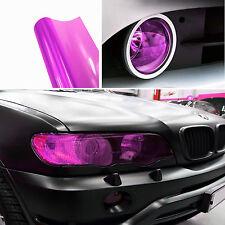 DIY Purple Pink Vehicle Headlight Fog Taillight Vinyl Tint Wrap Decal For Holden